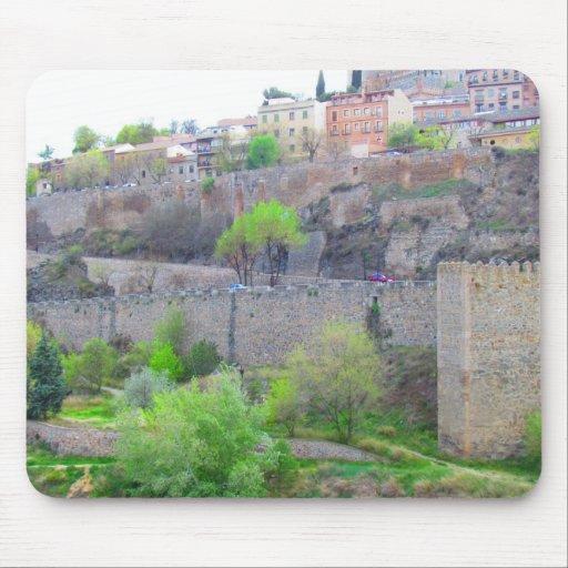 Toledo, España Tapete De Raton
