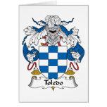 Toledo Family Crest Card