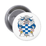 Toledo Family Crest Pinback Button