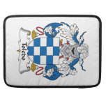 Toledo Family Crest Sleeves For MacBook Pro
