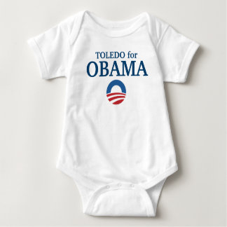 TOLEDO for Obama custom your city personalized T-shirt