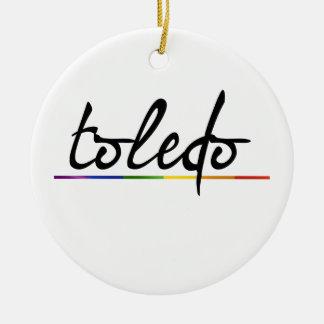 TOLEDO GAY PRIDE - png Ornaments
