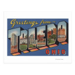 Toledo, letra ScenesToledo, OH de OhioLarge Tarjetas Postales