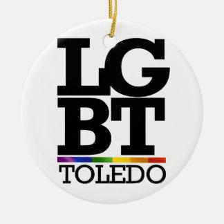 TOLEDO LGBT - png Christmas Ornament