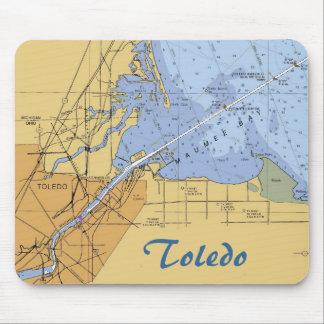 Toledo, OH  Erie Nautical Chart Mousepad