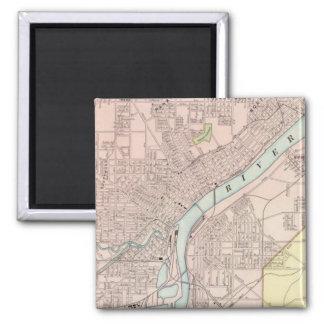 Toledo, Ohio 2 Inch Square Magnet