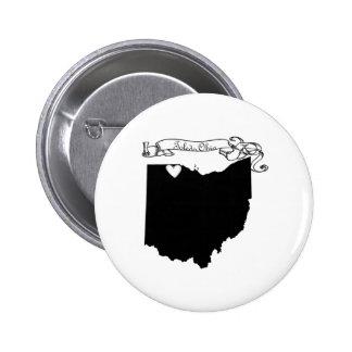 Toledo Ohio 2 Inch Round Button
