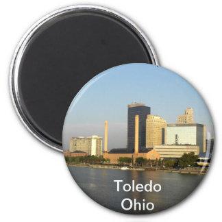 Toledo Ohio City 2 Inch Round Magnet