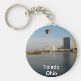 Toledo Ohio City Keychain