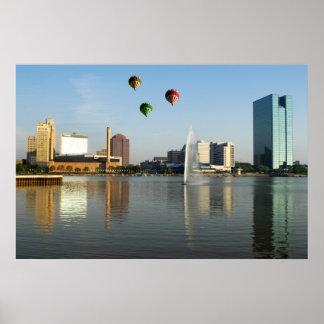 Toledo Ohio City Poster