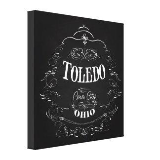 Toledo, Ohio - ciudad del maíz Impresiones De Lienzo