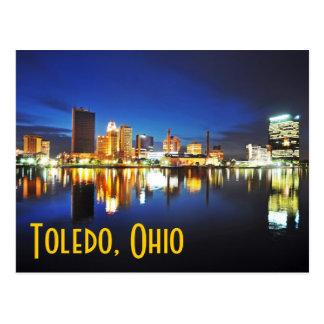 Toledo, Ohio en la oscuridad Postales