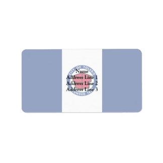 Toledo, Ohio, Estados Unidos señala por medio de u Etiqueta De Dirección