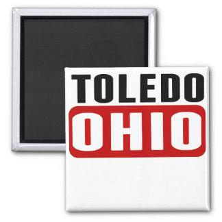 Toledo Ohio Imán Cuadrado