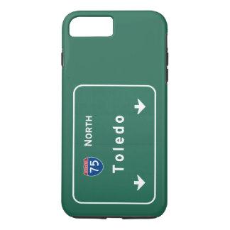 Toledo Ohio oh Interstate Highway Freeway : iPhone 8 Plus/7 Plus Case