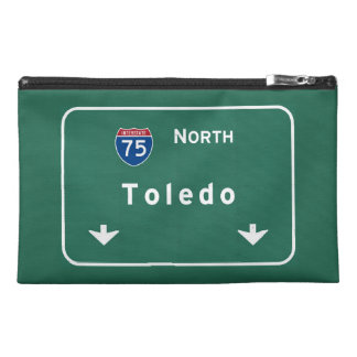 Toledo Ohio oh Interstate Highway Freeway : Travel Accessory Bag