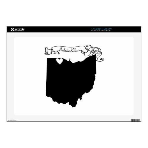 Toledo Ohio Portátil Calcomanía