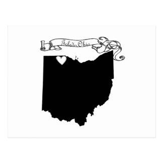 Toledo Ohio Tarjeta Postal