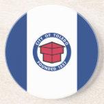 Toledo, Ohio, United States flag Beverage Coaster