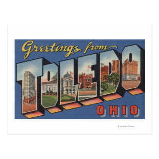 Toledo, OhioLarge Letter ScenesToledo, OH Postcard