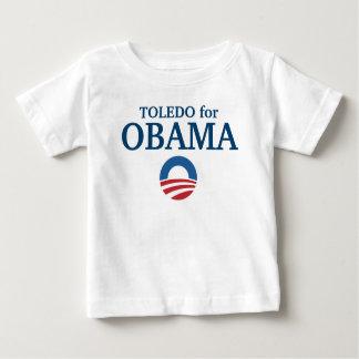 TOLEDO para el personalizado de Obama su ciudad Playeras