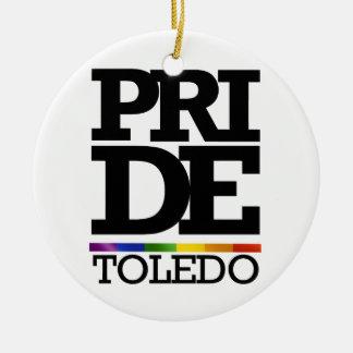 TOLEDO PRIDE - png Christmas Tree Ornament