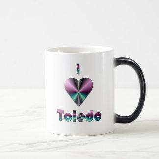 Toledo -- Purple & Turquoise Magic Mug