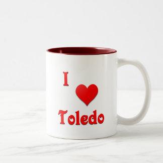 Toledo -- Red Two-Tone Coffee Mug