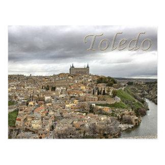 Toledo Rio Tajo Castile–La Mancha Spain Postcard