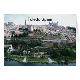 Toledo Spain Card