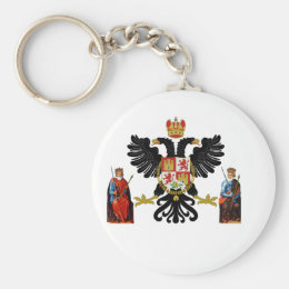 Toledo (Spain) Coat of Arms Keychain