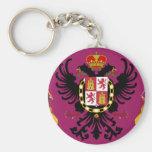 Toledo (Spain) Flag Keychains