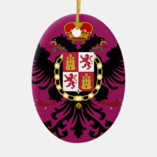 Toledo Spain Flag Ornaments