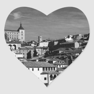 Toledo, Spain Heart Sticker
