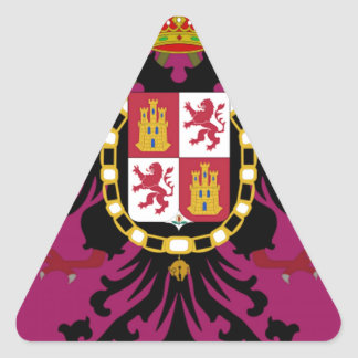 Toledo (Spain) Triangle Sticker