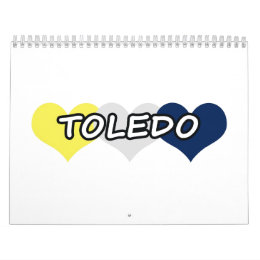 Toledo Triple Heart Calendar