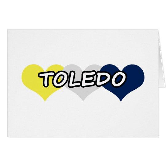 Toledo Triple Heart Card