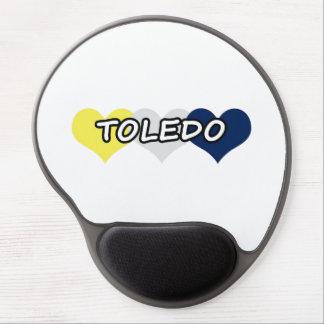 Toledo Triple Heart Gel Mouse Mats