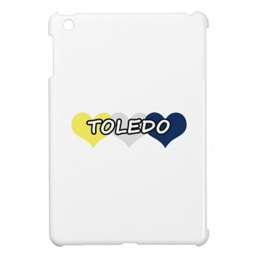 Toledo Triple Heart iPad Mini Cover