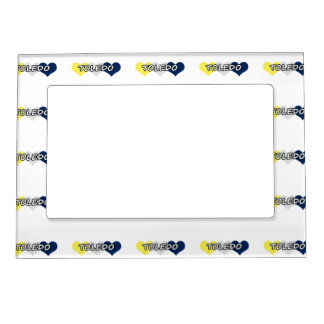 Toledo Triple Heart Magnetic Picture Frame