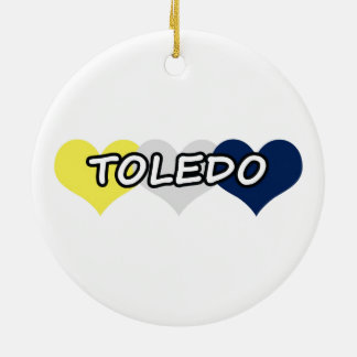 Toledo Triple Heart Ornament