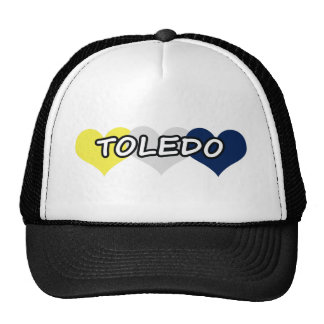 Toledo Triple Heart Trucker Hat