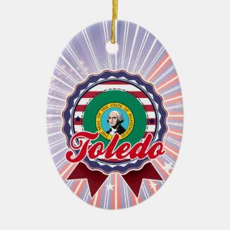 Toledo WA Ornament