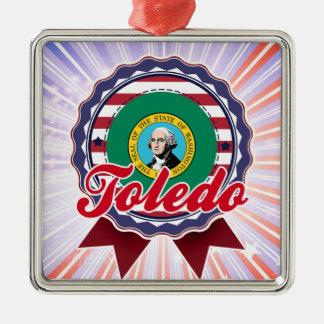 Toledo WA Christmas Ornament