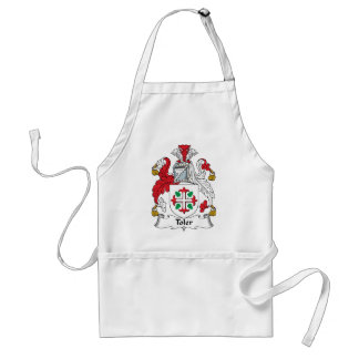 Toler Family Crest Adult Apron