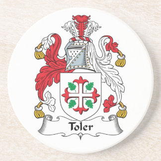 Toler Family Crest Coasters