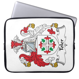 Toler Family Crest Computer Sleeves