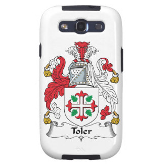 Toler Family Crest Galaxy S3 Cover