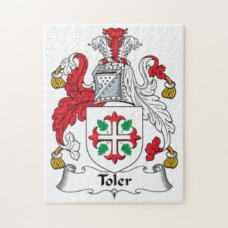 Toler Family Crest Jigsaw Puzzles