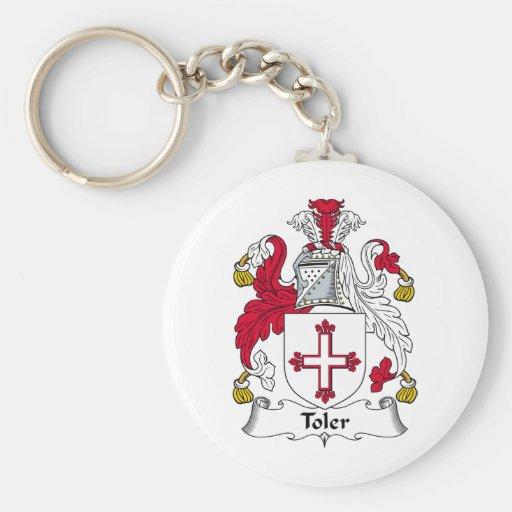 Toler Family Crest Key Chains